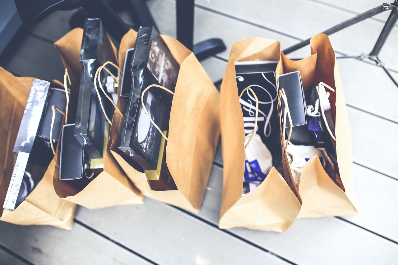 shopping bags e-commerce